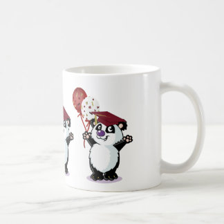 Happy Panda Bear Graduate Coffee Mug