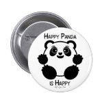 Happy Panda Buttons
