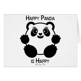 Happy Panda Card