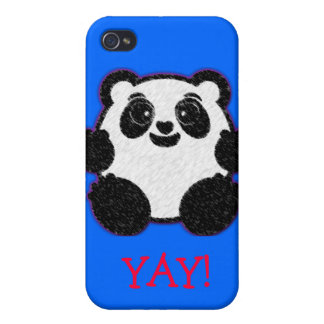 Happy Panda Cases For iPhone 4