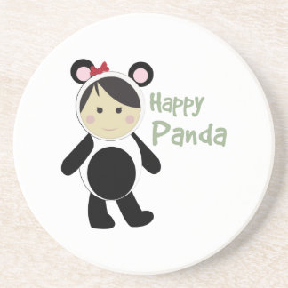 Happy Panda Coasters