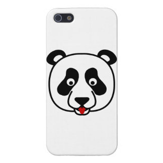 Happy Panda Face Cover For iPhone SE/5/5s