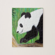 Happy Panda Jigsaw Puzzle