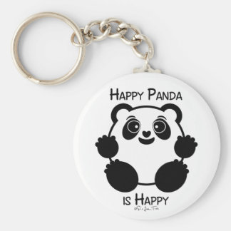 Happy Panda Keychain