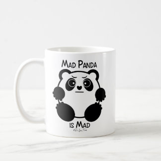 Happy Panda/Mad Panda Classic White Coffee Mug