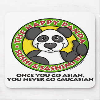 Happy Panda Mousepad
