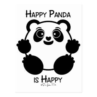 Happy Panda Postcard