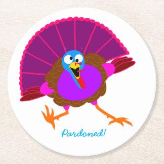 Happy Pardoned Turkey coasters