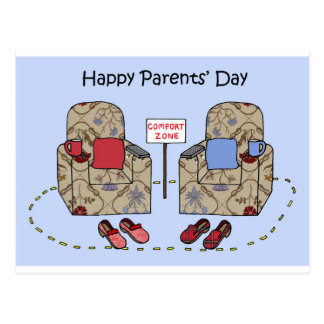 Happy Parents' Day Postcard