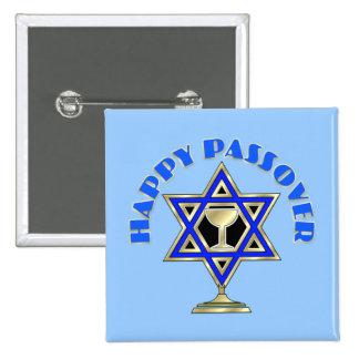 Happy Passover 2 Inch Square Button
