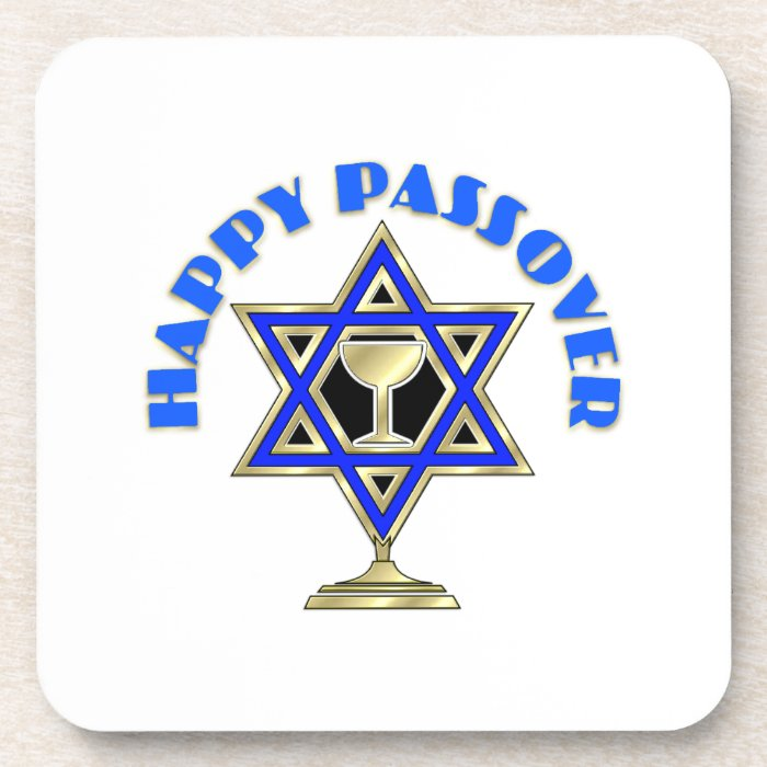 Happy Passover Coaster