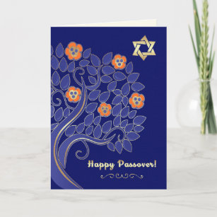 Happy passover cards zazzle happy passover customizable greeting cards m4hsunfo