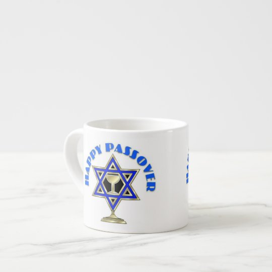 Happy Passover Espresso Cup