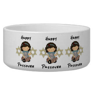 Happy Passover Girl Bowl