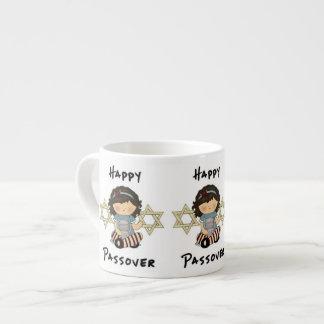Happy Passover Girl Espresso Cup