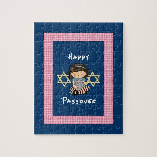 Happy Passover Girl Puzzle