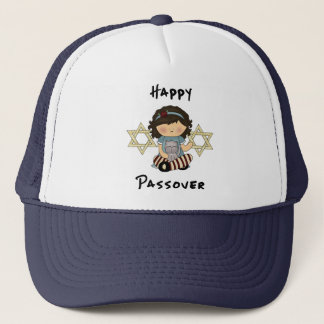 Happy Passover Girl Trucker Hat