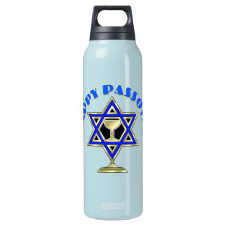 Happy Passover Insulated Water Bottle