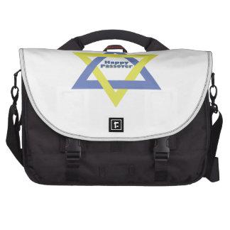 Happy passover laptop bag