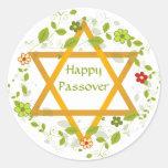 Happy Passover Magen David Sticker