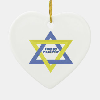 Happy passover christmas ornaments