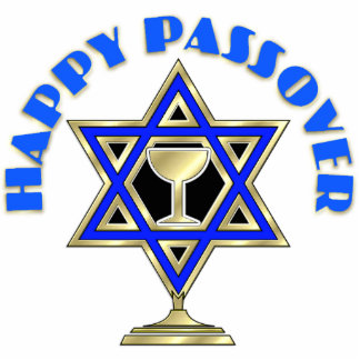 Happy Passover Photo Sculpture Ornament