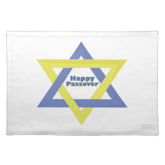 Happy passover cloth placemat