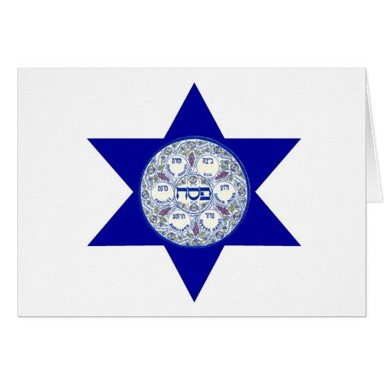 Happy Passover Seder Card