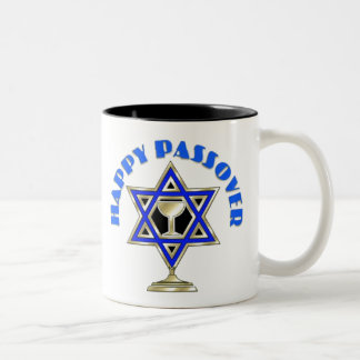 Happy Passover Two-Tone Coffee Mug