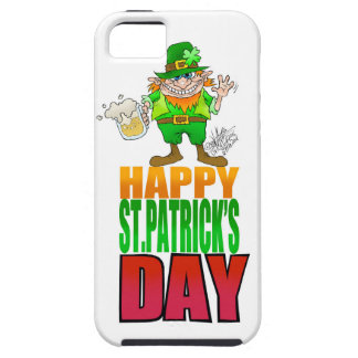 Happy Pat, Cartoon Leprechaun waving, Iphone5. iPhone SE/5/5s Case