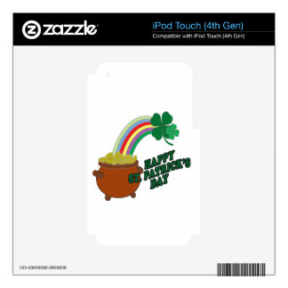 Happy Patrick s Day Decal For iPod Touch 4G
