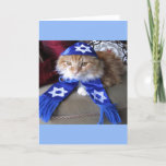 "Happy Paw-nukkah! Holiday Card<br><div class=""desc"">Celebrate the holidays with humor.</div>"