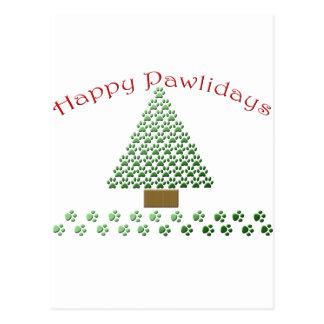 happy pawlidays copy1 postcard