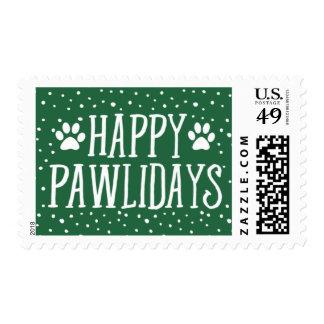 Happy Pawlidays | Holiday Postage