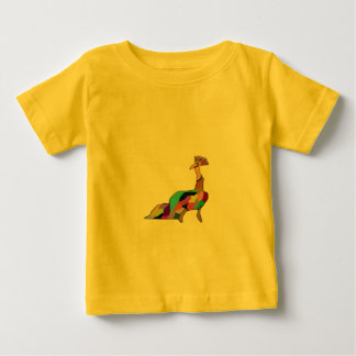 Happy Peacock Baby T-Shirt