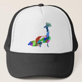 Happy Peacock Trucker Hat