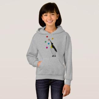 Happy penguin hoodie