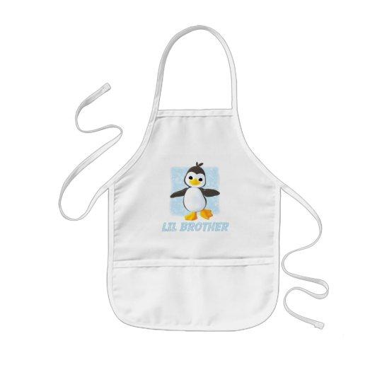 Happy Penguin Little Brother Kids' Apron