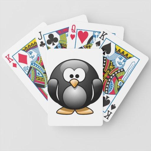 Happy Penguin Poker Deck