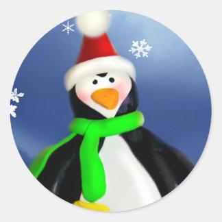 Happy Penguin Sticker