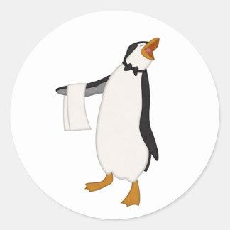 Happy Penguin Stickers