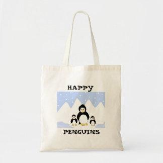 Happy Penguins Tote Bag