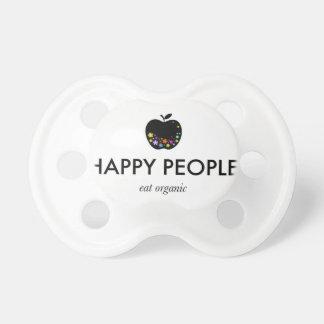 Happy People, Eat Organic Pacifier