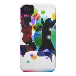 Happy People iPhone 4 Case-Mate Case