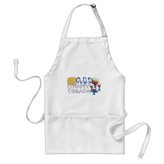 Happy Pesach Adult Apron