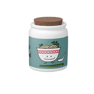 Happy Pho Noodle Bowl Candy Jars