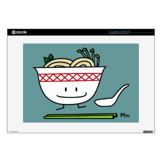 Happy Pho Noodle Bowl Decal For Laptop