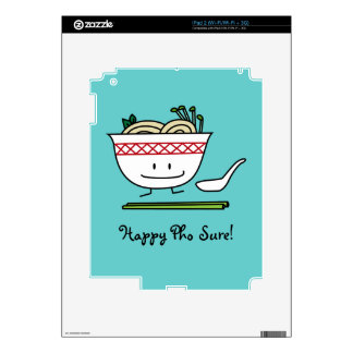 Happy Pho Noodle Bowl iPad 2 Skins