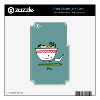 Happy Pho Noodle Bowl iPod Touch 4G Skins
