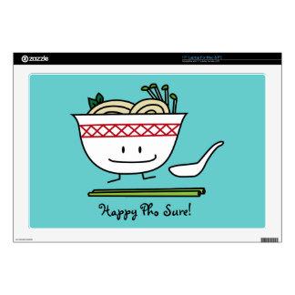 Happy Pho Noodle Bowl Laptop Skin